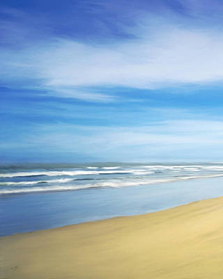 Painting - Beach by Ann Powell