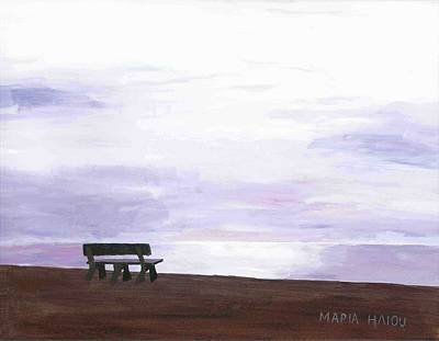 Maria Iliou Painting - Beach At Cape Cod by Artists With Autism Inc