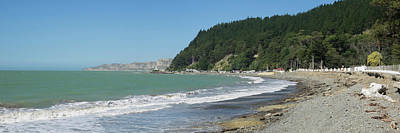 Hawkes Bay Photograph - Beach At Clifton, Near Cape Kidnappers by Panoramic Images