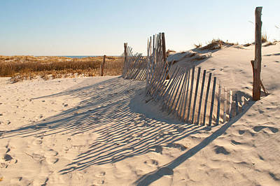 Beach At Lbi Art Print