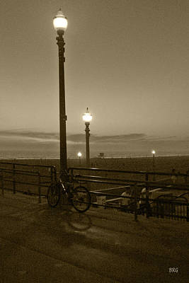 Photograph - Beach At Night by Ben and Raisa Gertsberg