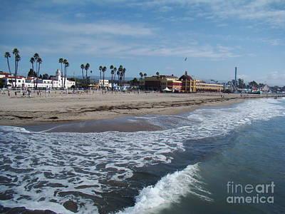 Photograph - Beach At Santa Cruz by Eva Kato