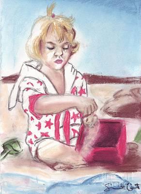 Pastel - Beach Baby by Samantha Geernaert
