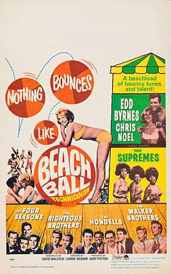 Beach Ball, Us Poster Art Print by Everett