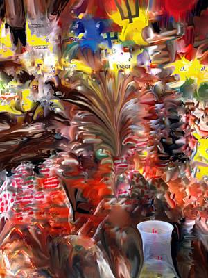 Digital Art - Beach Bar by Ian  MacDonald