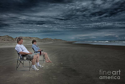 Best Friend Photograph - Beach Besties - Outer Banks by Dan Carmichael