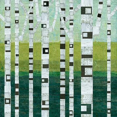 Painting - Beach Birches by Michelle Calkins