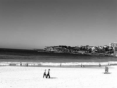Nature Photograph - Beach Black And White by Girish J