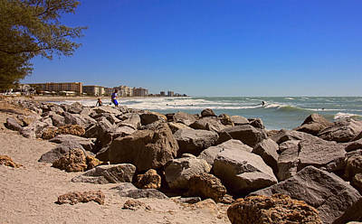 New Years Royalty Free Images - Beach Boulders Royalty-Free Image by Rosalie Scanlon