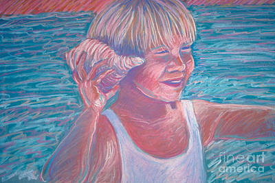 Painting - Beach Boy by Audrey Peaty