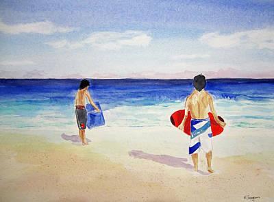 Beach Boys Australia Art Print