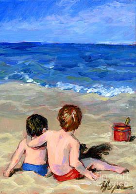 Beach Boys Art Print by Hope Lane