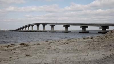 Photograph - Beach Bridge by John Wartman