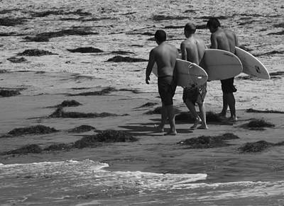 Photograph - Beach Brothers by Nathan Rupert