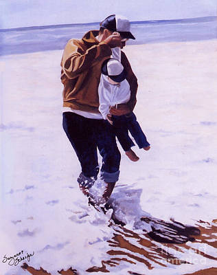 Painting - Beach Buddies II by Suzanne Schaefer