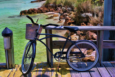 Bath Time - Beach Buggy-Bike by Tom Prendergast