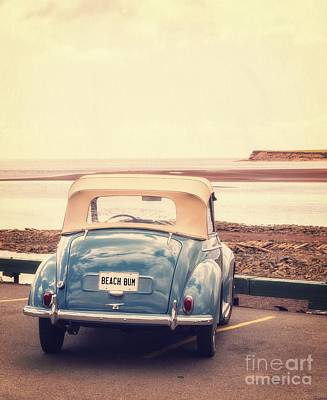 Beach Bum Art Print by Edward Fielding