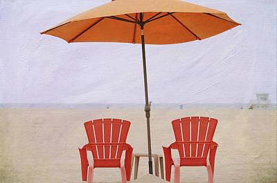 Photograph - Beach Bums 2 by Fraida Gutovich