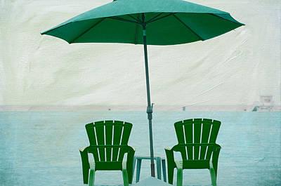 Photograph - Beach Bums 4 by Fraida Gutovich