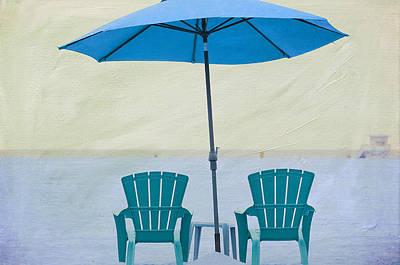 Photograph - Beach Bums by Fraida Gutovich