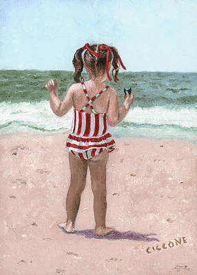 Beach Buns Art Print