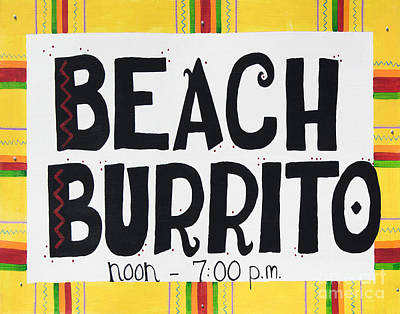 Photograph - Beach Burrito by Barbara McMahon
