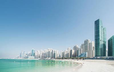 Photograph - Beach Cityscape by Imagegap
