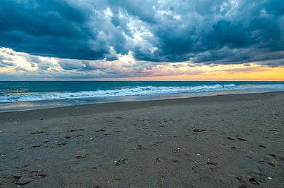 Photograph - Beach Clouds by Paul Johnson