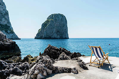 Object Photograph - Beach Club La Fontanella, Capri by Arnt Haug / Look-foto