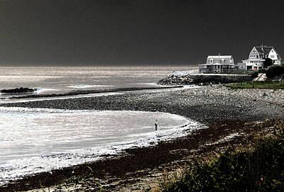 Beach Comber Art Print by Ron White