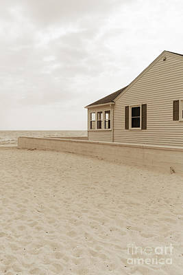 Photograph - Beach Cottage by Edward Fielding