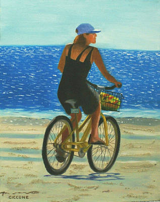Beach Cruiser Art Print