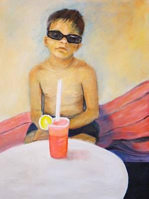 Painting - Beach by Dagmar Helbig