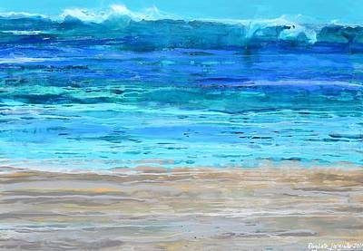 Painting - Beach Day by Elizabeth Langreiter