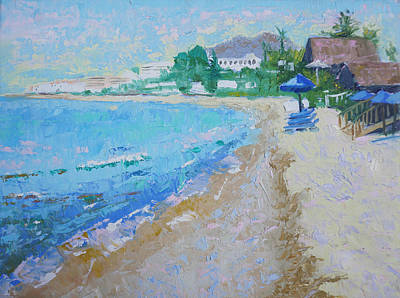 Painting - Beach Day by Pixie Glore
