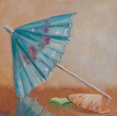 Painting - Beach Days Ahead by Debbie Lamey-MacDonald