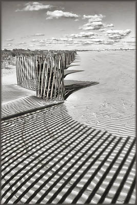 Photograph - Beach Designs by Carolyn Derstine