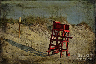 Beach Dune Art Print by Deborah Benoit