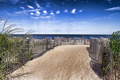 Photograph - Beach Entry by Trudy Wilkerson