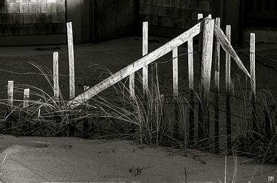 Photograph - Beach Fence by John Meader