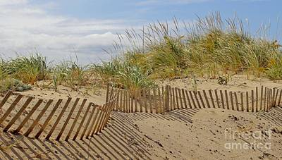 Photograph - Beach Fence by Karin Pinkham