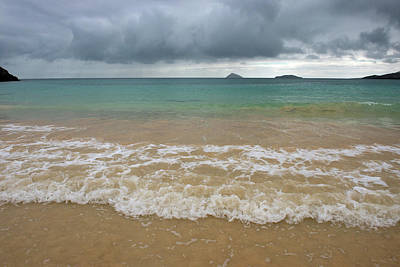 Beach Floreana Island, Galapagos Art Print