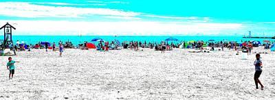 Beach Fun 1 Art Print
