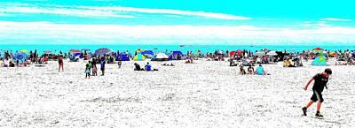 Beach Fun 2 Art Print