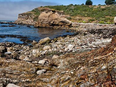 Mendocino California Coast Photograph - Beach Geology by Kathleen Bishop