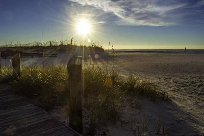 Digital Art - Beach Glare by Michael Thomas
