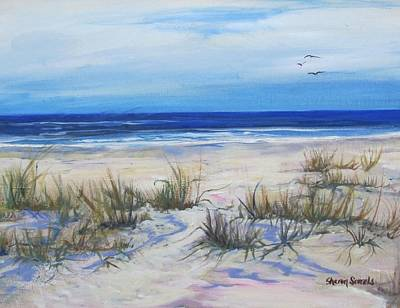 Painting - Beach Grasses by Sharon Sorrels