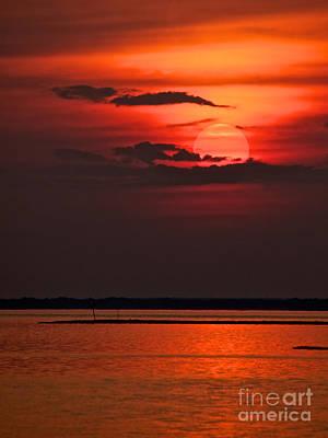Photograph - Beach Haven Sunset by Mark Miller