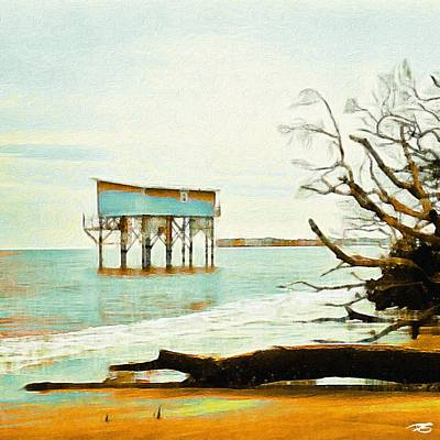 Photograph - Beach House by Patricia Greer