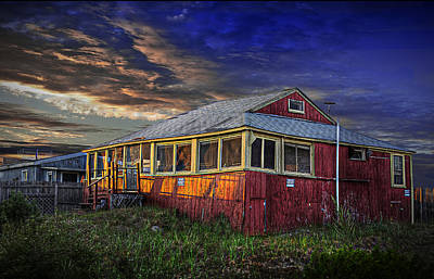 Photograph - Beach House by Rick Mosher